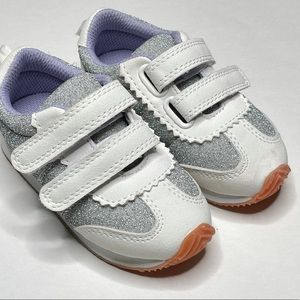 New Gymboree Shoes Metallic Hook & Loop Shoe